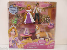Disney Princess - PVC Figures - RAPUNZEL'S Wedding Party - Ages 3 and up