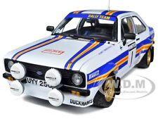 """FORD ESCORT RS1800 #1 """"ROTHMANS"""" MINTEX 1981 RALLY WINNER 1/18 CAR SUNSTAR 4454"""