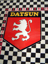 Datsun Lion Shield Sticker 240Z 260Z 510 SSS 1600 ZX 120Y 100A Fairlady 2000