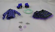 Monster High 13 Wishes Twyla Doll Replacement Outfit W/ Shoes Earrings Bracelets