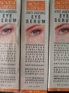Anti Aging wrinkle collagen Eye cream serum treatment firm skin bags