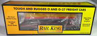 Rail King Union Pacific Flatcar w/Trailer #30-7632 - O scale