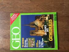 REVUE GEO 151 okavango cathedrales pinatubo bondo lechuguilla  carte 1991