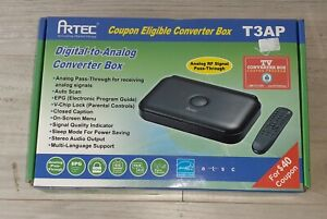Artec T3AP Digital to Analog Converter Opened Box Never taken out