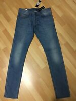 NWD Mens Diesel TEPPHAR STRETCH Denim 0687V BLUE Slim W30 L32 H6 RRP£160