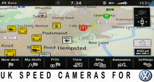More details for vw uk sat nav speed cameras cams golf mk 7 passat tiguan t-roc t6 pro rns 510