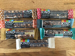 Lot Of 100 Kind Bars Dark Chocolate Almond Sea Salt Coconut Peanut Butter