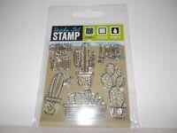 Cactus Love Plants Ready Set Stamp Acrylic Clear stamp set Birds Studio