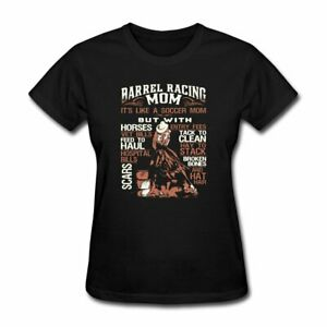 Spreadshirt Barrel Racing Mom Women's T-Shirt