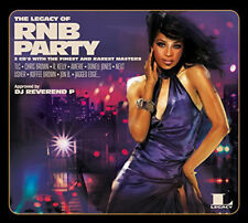 """THE LEGACY OF RNB PARTY """" VARIOUS """" 3 X CD SET SEALED 30 TRACKS JUSTIN TIMBERLAK"""