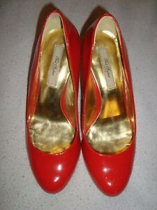 TED BAKER  UK 4 EU 37 RED Patent Leather  RRP £149.00
