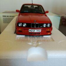 Autoart Bmw M3 E30 1/18 Red