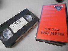 Triumph Dealer VHS Cassette Video Tape Triumph / Speed Triple #S