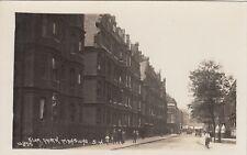 London Real Photo Postcard. Elm Park Mansions. Chelsea. Johns. 10855. Rare! 1920