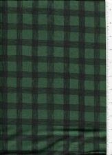 debbie mumm ~ DEEP GREEN CHECKERBOARD CHECK ~ fabric SSI squares