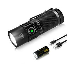 Sofirn SC21 Led Rechargeable Mini Flashlight Bright 1000 lumen EDC Flashlight