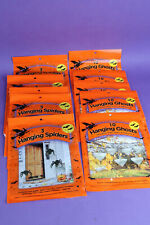 Huge Halloween decoration lot 50 hanging ghosts plus 15 hanging spiders