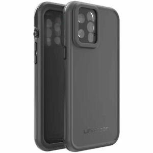 """LifeProof Fre Series Case For iPhone 12 Pro Max (6.7"""") - Black"""