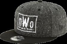 NWO New World Order WWE Wrestling New Era 950 Adjustable Snapback Tweed Hat Cap