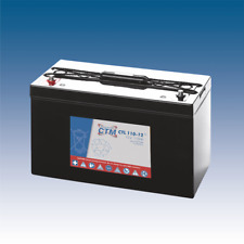 12V 110Ah CTM AGM Longlife-Batterie