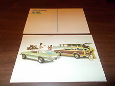 1974 Ford Pinto Station Wagon/3-Door Runabout  Advertising Postcard