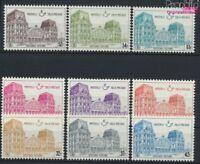 Belgien PP67-PP75 (kompl.Ausg.) postfrisch 1971 Bahnhöfe (9213250
