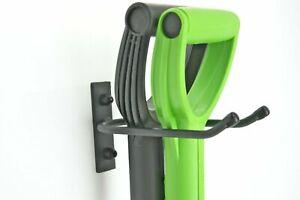 Gerätehalter Werkzeughalter Gartenwerkzeughalter Wandhaken Wandhalterung Stahl