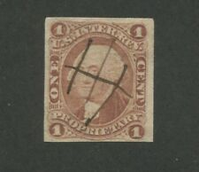1862 United States Revenue Proprietary Stamp #R3a Used F/VF Pen Cancel