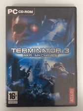 TERMINATOR 3 WAR OF THE MACHINES ATARI PC ORDENADOR PAL ESPAÑA. NUEVO PRECINTADO
