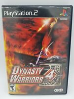 Dynasty Warriors 4 (Sony PlayStation 2, 2003) PS2 Tested