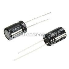 20PCS 10V 1000uF 8 x 12 mm Radial Electrolytic Capacitor NEW