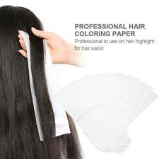 100Pcs Salon Hair Dye Dyeing Paper Coloring Highlighting Seperating Sheets