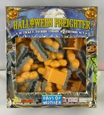 New in Shrink - Ticket to Ride Trains - Halloween Freighter - Rare