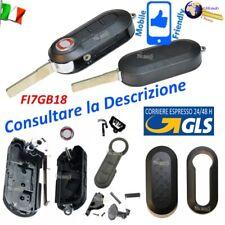 Chiave Cover Shell Guscio Fi7gb18 Lama Flip Sip22 3 Tasti FIAT 500 PANDA Punto