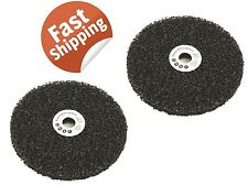 "2pcs STRIPPING WHEEL DISC 7"" LARGE RUST STRIP PAINT GRINDER PANEL SPAGHETTI"