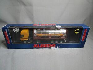 AR338 ALBEDO Ho 1/87 RENAULT CAMION CITERNE FURRER AG HEDINGEN REF 710050