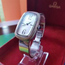 Rare Glycine Schweizer Uhr Kal As 1977-2 Silber 800 Silver 64 Gr. Cabochon blau