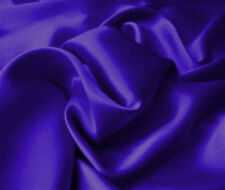 Silk~Y Satin Charmeuse Fitted Sheets Set King Purple