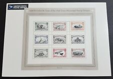 USA 1998 Trans-Mississippi 9v Stamps Sheetlet / Full Pane Mint NH