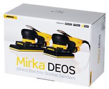 Mirka DEOS 81x133 mm im KARTON Elektro Schleifmaschine Schwingschleifer
