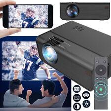 Heimkino Projektor Beamer HD 1080P Media Projektor Home Theater HDMI VGA USB SD