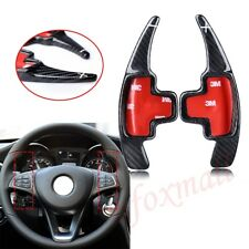 Carbon Fiber Shifter Steering Wheel Shift Paddle For Benz A B C E S Accessories