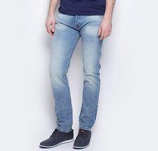 Men's Ex Wrangler Boston Selvedge Tapered Leg Jeans RRP £100 (SECONDS) WA107