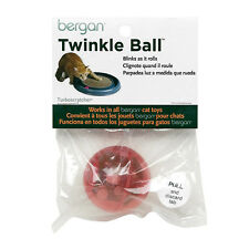 BERGAN REPLACEMENT TWINKLE LED BALL CAT TOY ASSORTED COLORS.FREE SHIP TO THE USA