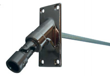 Universal Pivot for Roll Shutters, Square Shaft, 4 Hole Mount, Includes Bullet