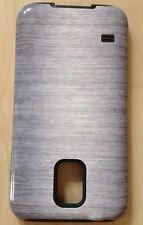 Metal Look - Silber für Samsung Galaxy S5 ToughCase Top Zustand, wie neu