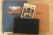 More details for collection of 148 old vintage photos/birthday cards in 3 albums people & social