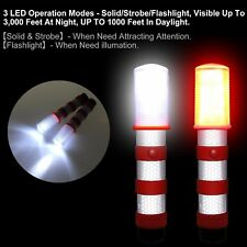 3 in 1 Road Warning Beacon LED Emergency Roadside Flares Safety Strobe Light