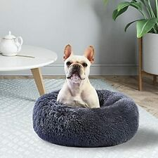 New listing Stvictory Cat Bed Calming Dog Bed for Medium Large Pets, Washable Dog Bed for In