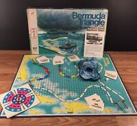 Vintage Milton Bradley 1975 Bermuda Triangle Mystery Cloud Board Game FOR PARTS